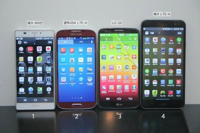Vega Iron - Samsung S4 - LG G2 - Vega LTE A