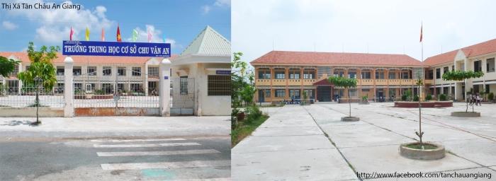 Trung Học Cơ Sở Chu Văn An - TX.Tân Châu - An Giang